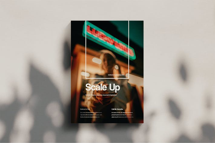 Thumbnail for Scale Up - Magazine Template