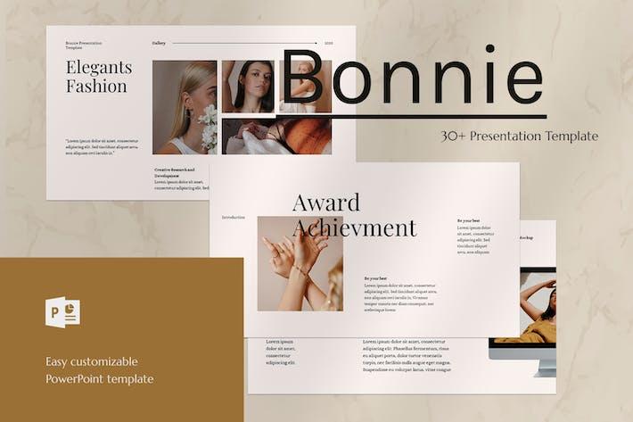 Thumbnail for Бонни - Шаблон PowerPoint