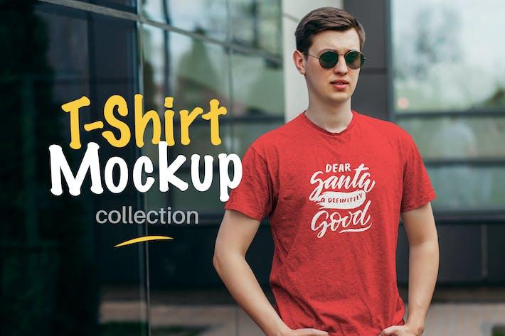 Thumbnail for T-Shirt Mockup Collection 05