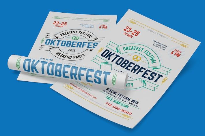 Thumbnail for Oktoberfest Festival Poster