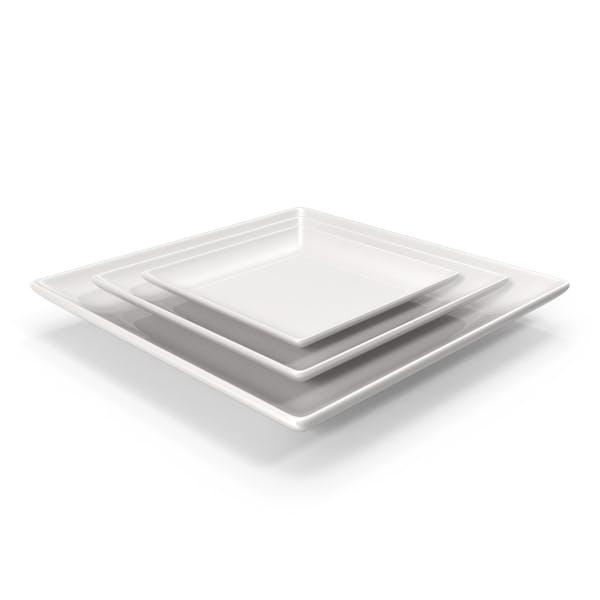 Cover Image for Ceramic Serving Plate Set
