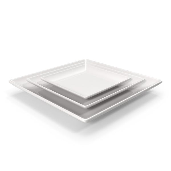 Thumbnail for Ceramic Serving Plate Set