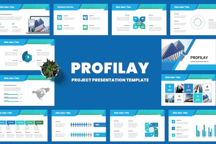 Thumbnail for Profilay - Business Google Slides Presentation