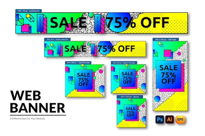 Clearance Sale Event | Web Banner