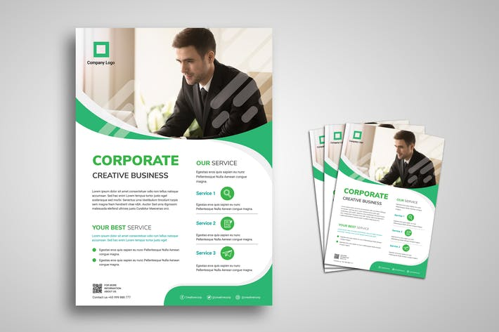 Thumbnail for Corporate Business Promo Flyer