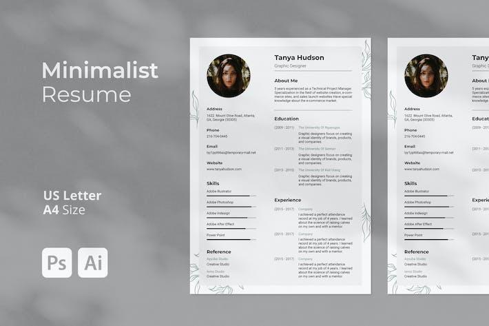Minimalist Resume