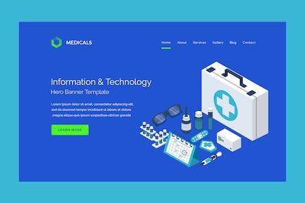Medicals - Hero Banner Template