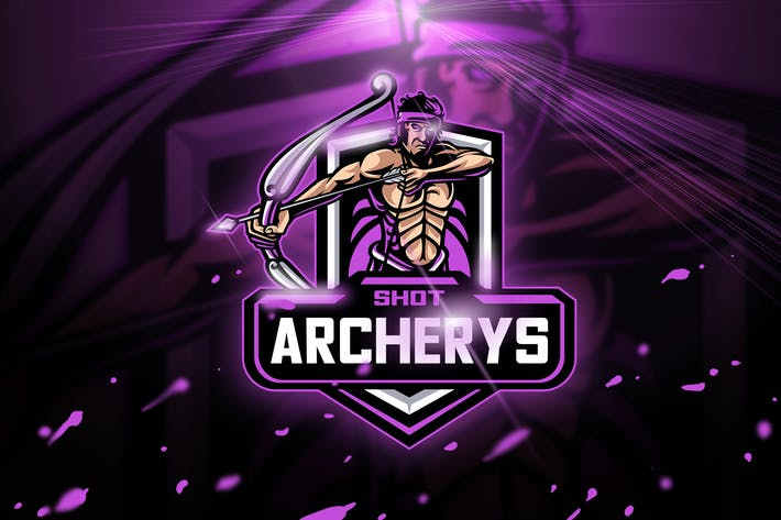 Thumbnail for Archery Shot - Mascot & Esport logo