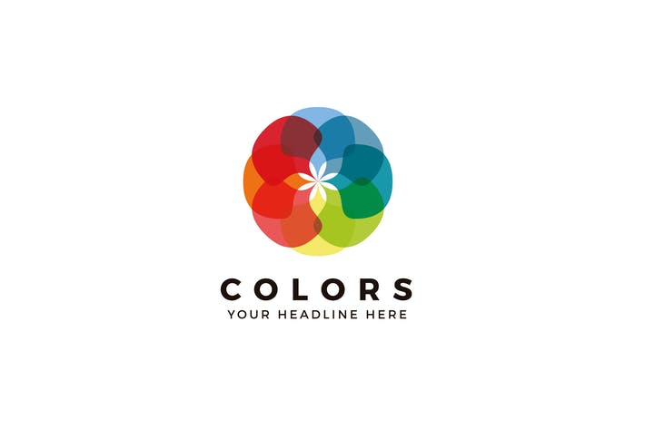 Thumbnail for Colors Logo Template