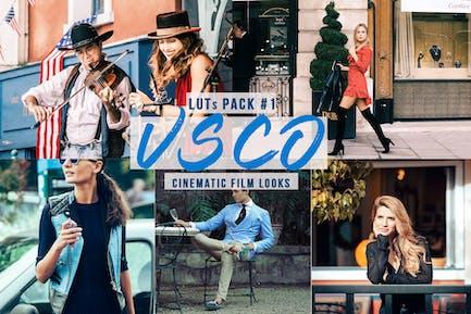 VSCO Cinematic LUTs - Film Look for Video Creators