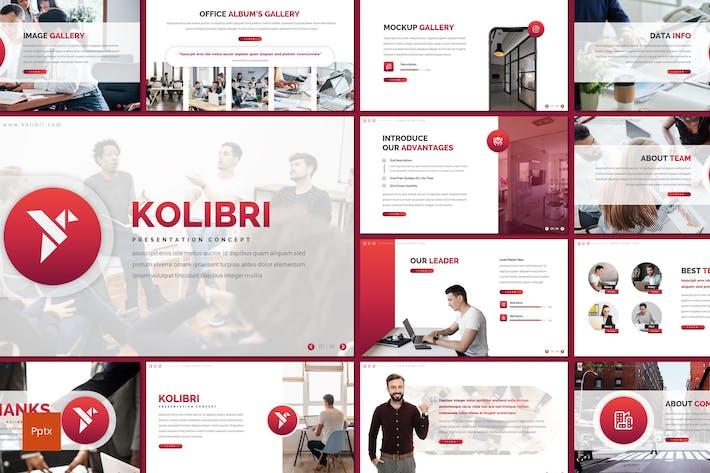 Thumbnail for Kolibri - Business Powerpoint Template