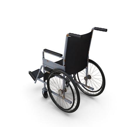 Vieja silla de ruedas
