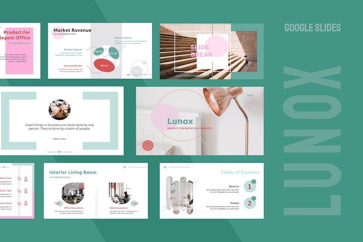Lunox Google Slides Presentation