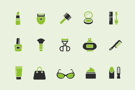 15 Beauty Product Icons