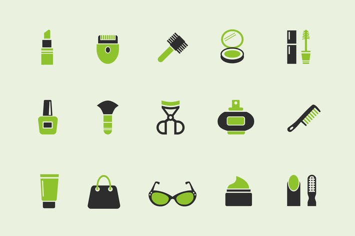 Thumbnail for 15 Beauty Product Icons