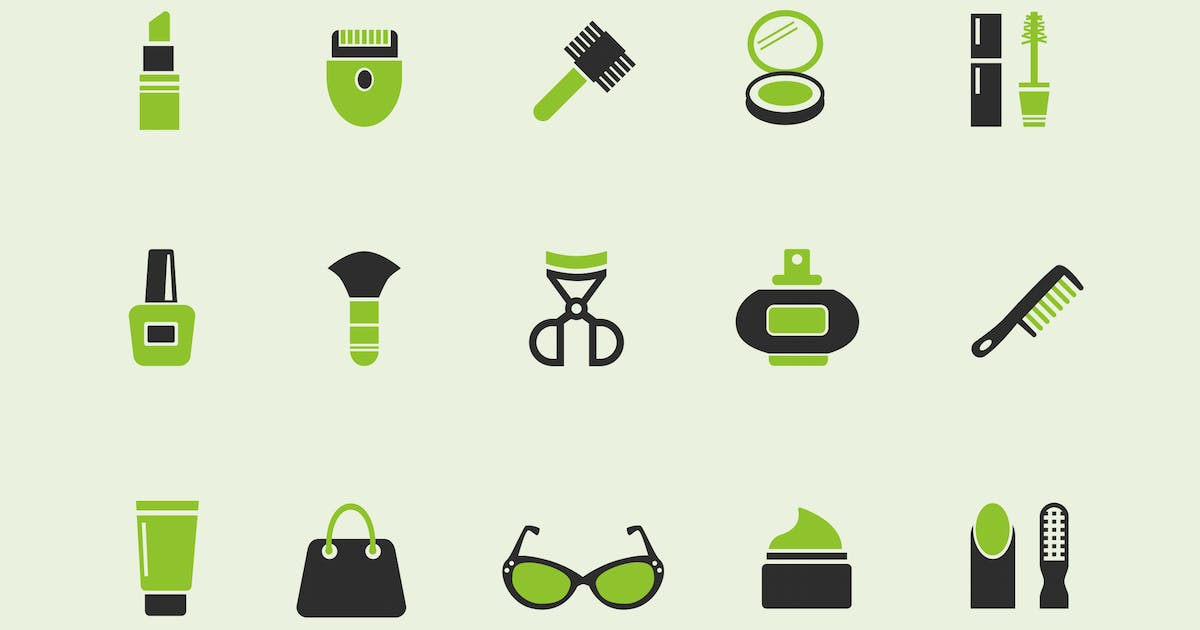 Download 15 Beauty Product Icons by creativevip