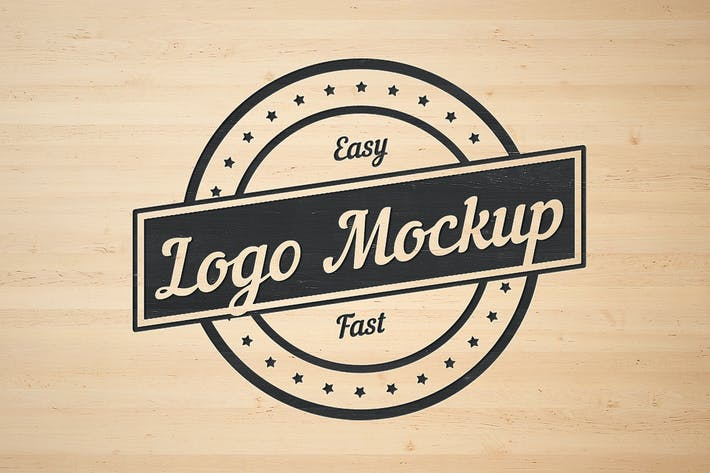 Thumbnail for Logo Flat Mockup