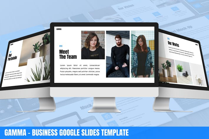 Thumbnail for Gamma - Business Google Slides Template