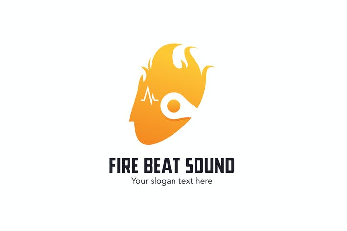 Thumbnail for Fire Headphone Beat Sound Logo