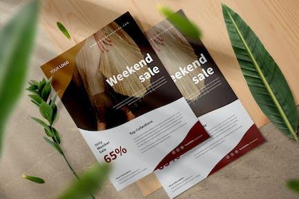 Weekend Sale Flyer