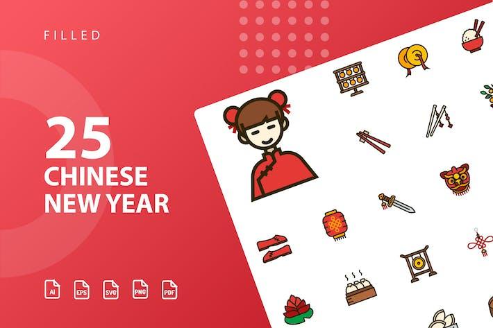 Thumbnail for Chinesisches Neujahr gefüllt
