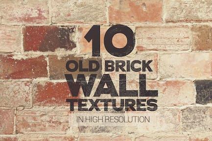 Old Brick Wall Textures x10