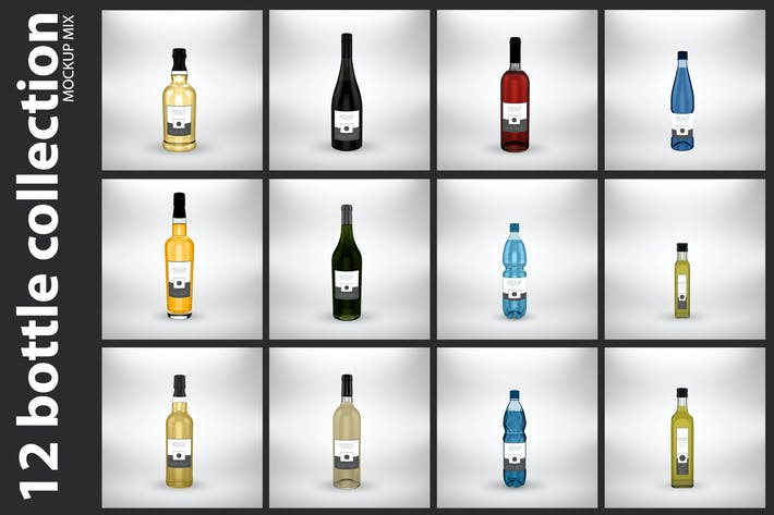 Thumbnail for 12 Bottle Collection Mock Up