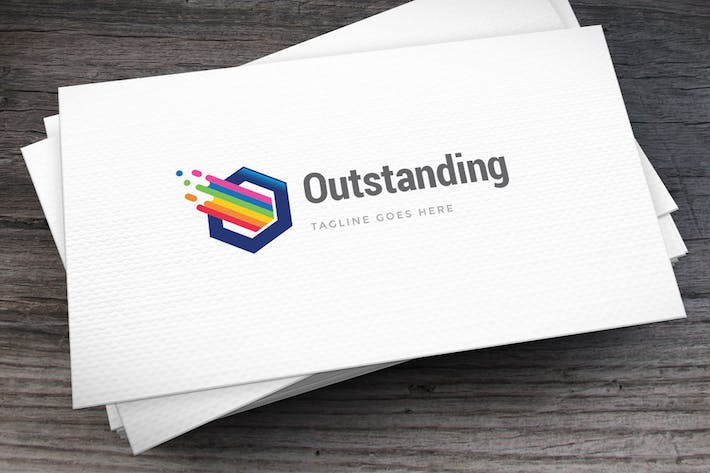 Thumbnail for Outstanding Logo Template