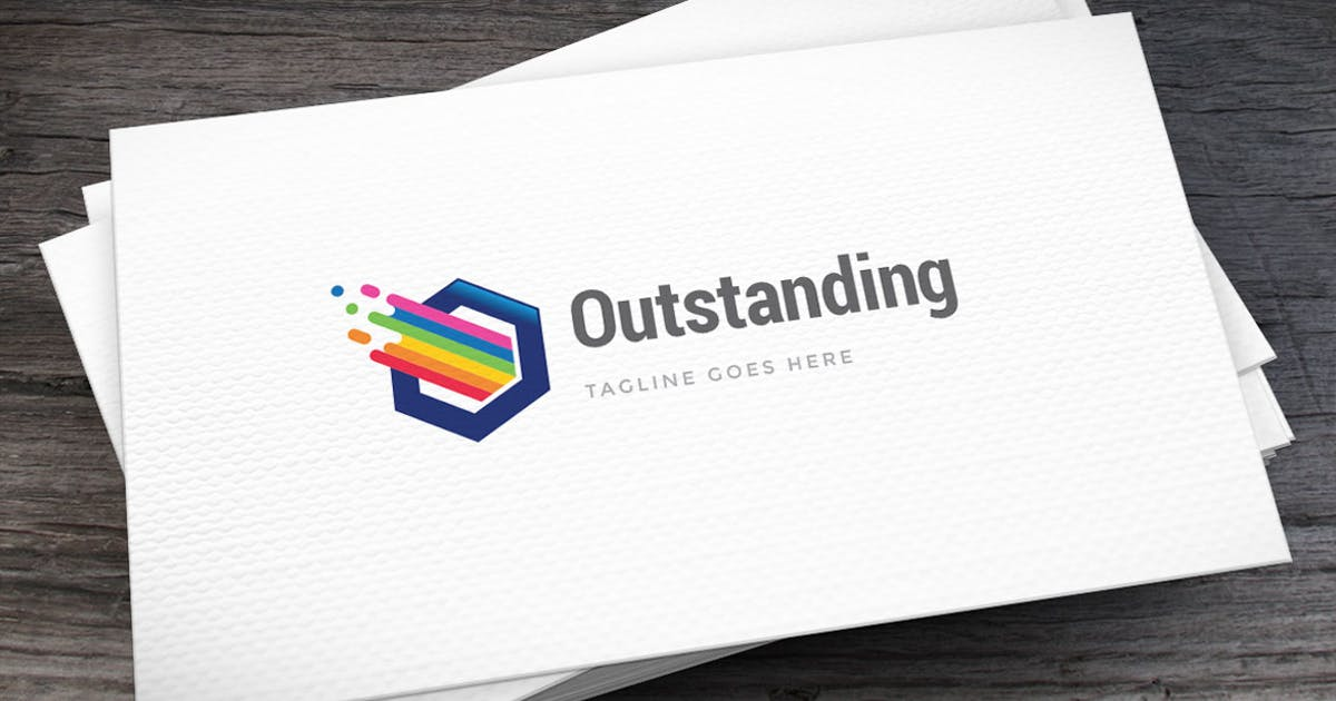 Outstanding Logo Template by empativo