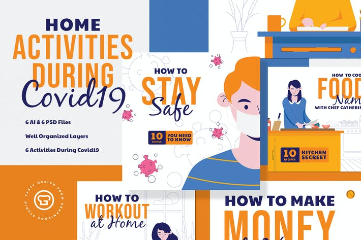 Home Activity Insta Pack