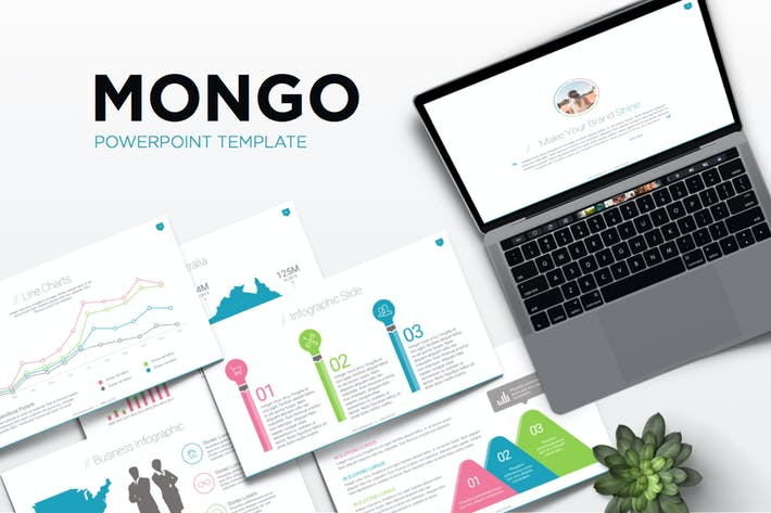 Thumbnail for Mongo Powerpoint Template