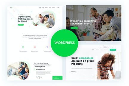 Gullu - Agency & Multipurpose WordPress Theme