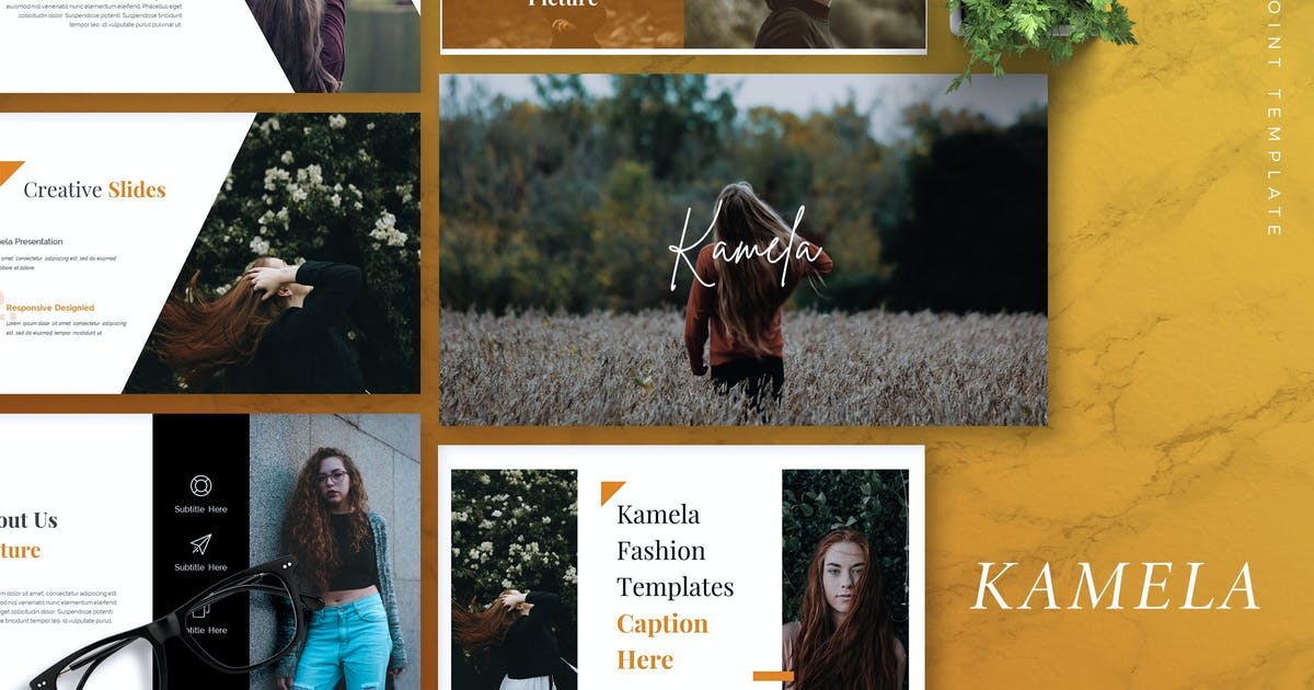 KAMELA - Creative Powerpoint Template by RahardiCreative