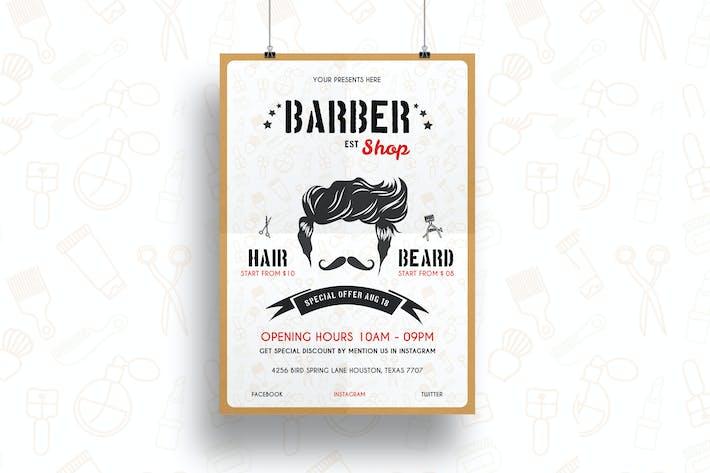 Thumbnail for Barber Shop Flyer-03