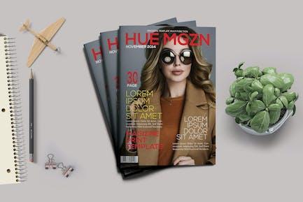 Hue Magazine Template