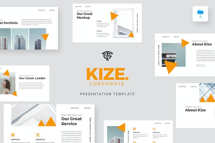 Thumbnail for Kize Корпоративный - Keynote