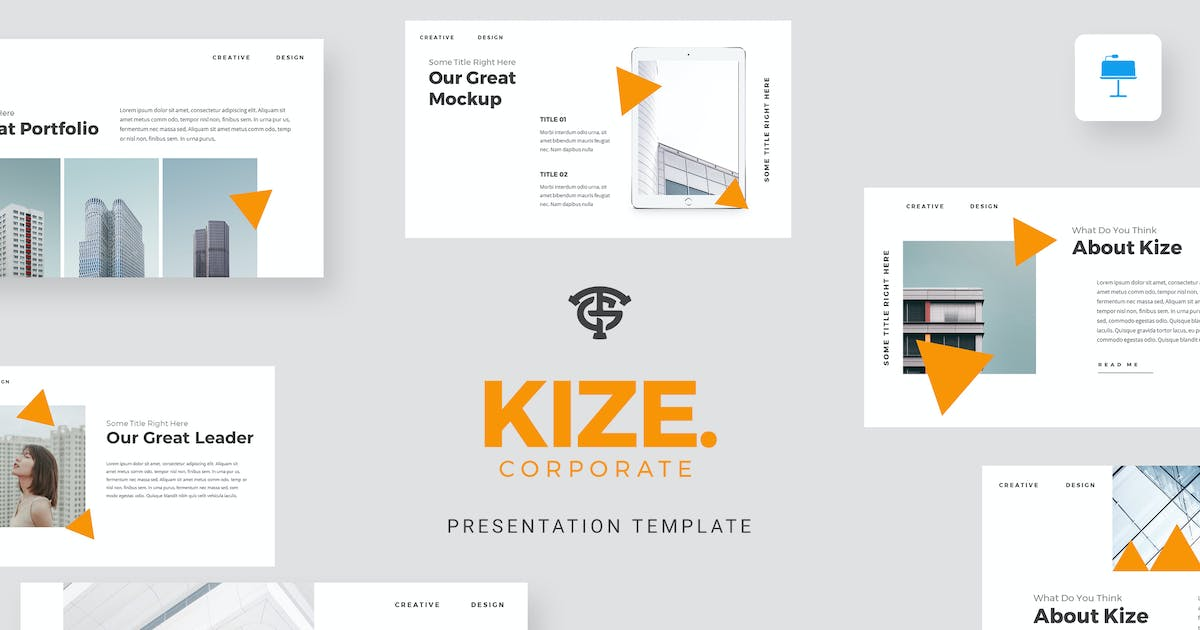 Download Kize Corporate - Keynote by graptailtype