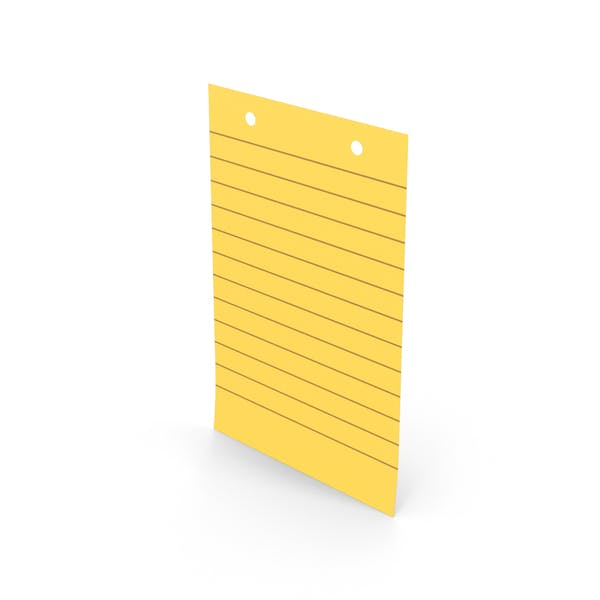 Sticky Note With Holes