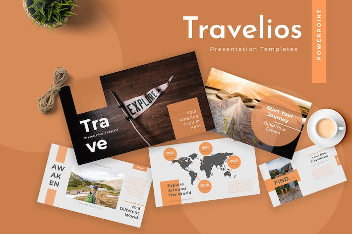 Thumbnail for Travelios Travel Agency Powerpoint Presentation