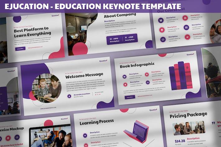 Thumbnail for Ejucation - Education Keynote Template