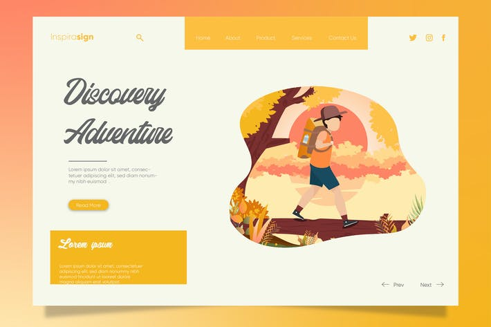 Thumbnail for Discovery Adventure - Banner & Landing Page