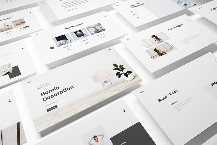 Thumbnail for Home Decoration Powerpoint Template