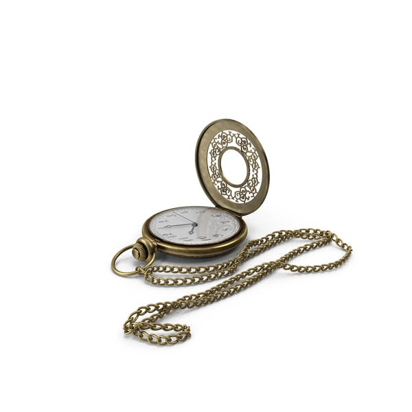 Cover Image for Pocket Watch and Chain