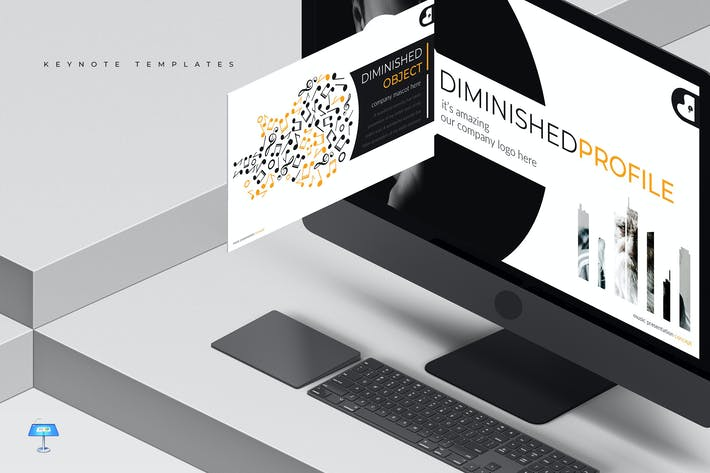 Thumbnail for Diminished - Keynote Template