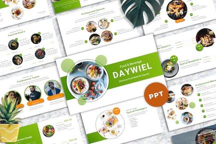 Daywiel - Food & Beverage Powerpoint Templates