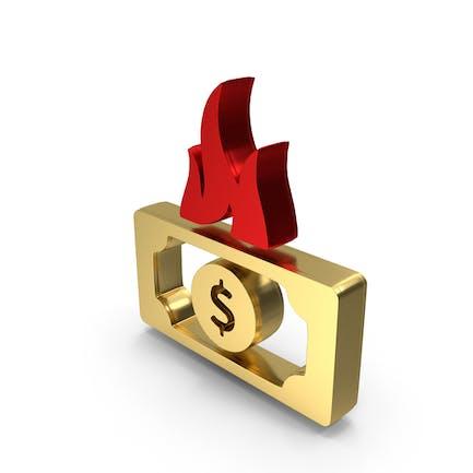 Dollar Money Needy Logo Icon