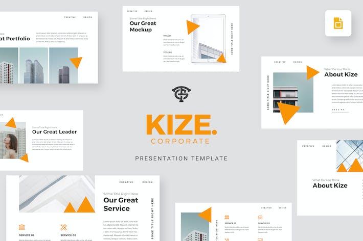Cover Image For Kize Corporate - Google Slides