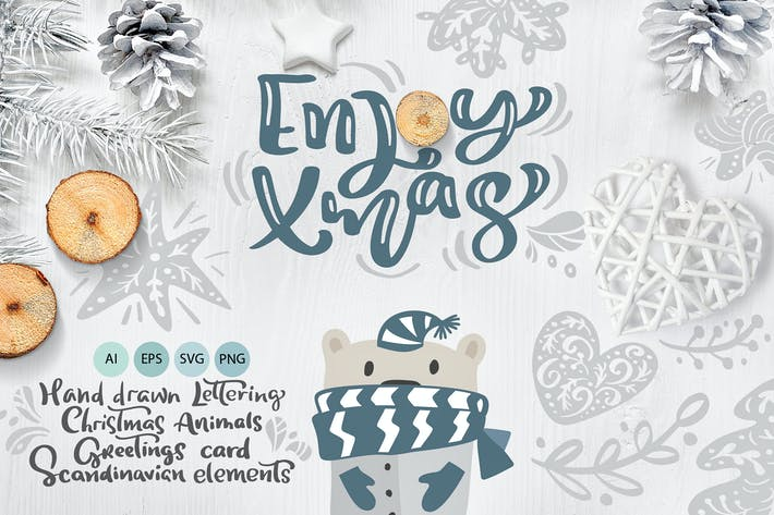 Thumbnail for Enjoy Xmas - Scandinavian Christmas Design