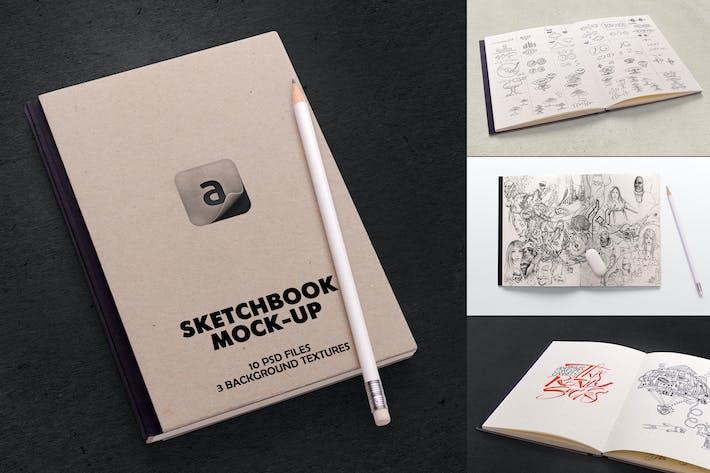 Thumbnail for Sketchbook Mock-up