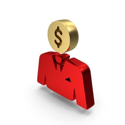 Logo Dollar Face Money